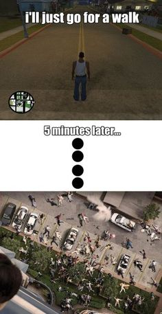 A great stress reliever grand theft auto