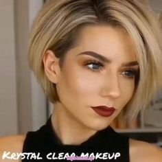 "Looking for a new short hairstyle to spice up your style? In this post you will find the best pictures of 20 latest Short haircuts that will totally inspire you! hair 2020 20 Latest Short Hairstyles That Will Make You Say ""WOW"" Layered Bob Short, Short Hair With Layers, Short Hair Cuts, Short Hair Styles, Short Asymmetrical Bob, Short Hair With Undercut, Long Pixie Bob, Short Asymmetrical Hairstyles, Short Sassy Hair"
