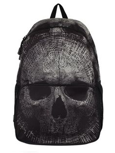 Just because you are at school or college, does not mean you have to give up on your alternative style. This awesome backpack from Banned is full of Gothic charm and features a full skull print made up of broken lines. With plenty of room for all your essentials, this bag should definitely be heading to your wish-list!