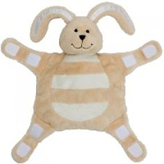 Sleepytot Rabbit Baby Comforter - sue could you make something like this for You attach dummy to each paw! Big Bunny, Rabbit Baby, Baby Comforter, Gifts For New Parents, Kids Sleep, Baby Furniture, Little Ones, Kids Toys, Comforters