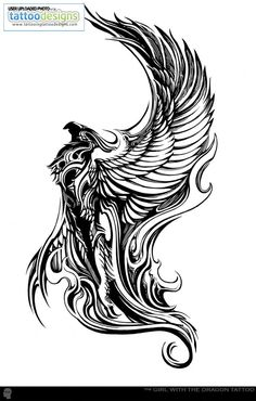 My next tattoo. The phoenix. Symbolizes rebirth. A second chance. Just as I got a second chance when I got through my stage of self-destruction. This means alot to me.