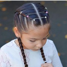 22 ideas hairstyles for school kids hairdos Kids Hairstyles Hairdos Hairstyles Ideas Kids School New Braided Hairstyles, Lil Girl Hairstyles, Hairstyles For School, Toddler Hairstyles, Cute Hairstyles For Toddlers, Trendy Hairstyles, Toddler Hair Dos, Kids Hairstyle, Long Haircuts