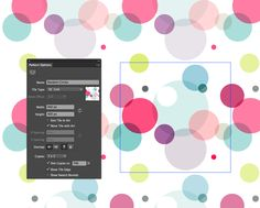 Creating Patterns in Illustrator! In Pattern Editing Mode in Illustrator CS6