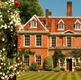 Lainston House Hotel, Winchester. Pretty house, big rooms, lovely grounds...and the afternoon tea doesn't look bad either.