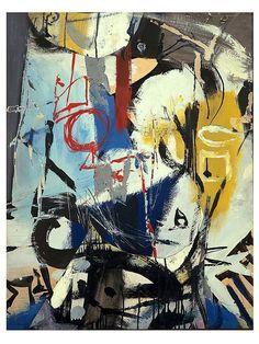 cavetocanvas: Untitled - Franz Kline, 1948