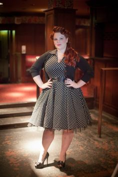 Glaming up Dresses in Plus Size