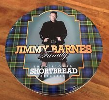 OZ JIMMY BARNES (COLD CHISEL) FAMILY TRADITIONAL SHORTBREAD BISCUITS IN TIN