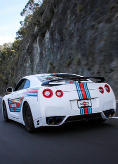 Nissan GT-R R35 Martini livery