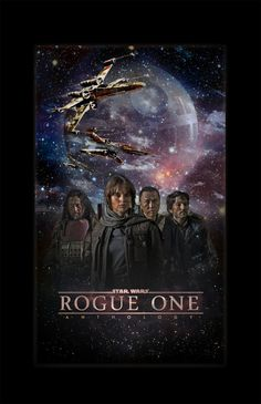 Star Wars Rogue One poster (The actress/outfits-everything about this is reminding me of Hunger Games-it's the overall look maybe..)
