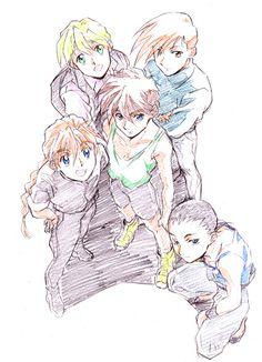 「Gチーム」/「と」のイラスト [pixiv] Duo Maxwell, Heero Yuy, Endless Waltz, Gundam Mobile Suit, Typical Girl, Gundam Wing, Mecha Anime, Girls Life, Anime Shows