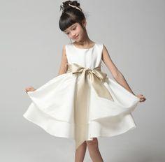antique gold flower girl dresses - Google Search