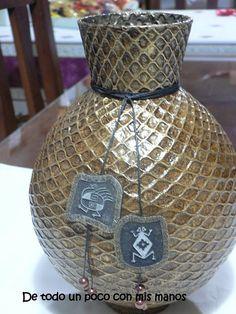 Eu Amo Artesanato: Vaso de bola de bexiga