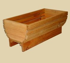 Cedar Deck Rail Planter