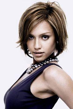 Jessica Alba Short Hair