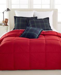 Lauren Ralph Lauren Color Down Alternative Full/Queen Comforter, 100% Cotton Cover - Comforters: Down & Alternative - Bed & Bath - Macy's