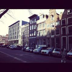 Anne Frank's house in Amsterdam.