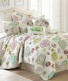 Another great find on #zulily! Calypso Quilt Set #zulilyfinds