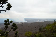 At the visitor's center and museum at the Kilauea caldera, elevation 4,000ft and chilly!