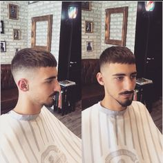 Discover recipes, home ideas, style inspiration and other ideas to try. Hairstyles Haircuts, Haircuts For Men, Jarhead Haircut, Hair And Beard Styles, Curly Hair Styles, Asian Short Hair, Crop Hair, Curly Hair Men, Medium Hair Cuts