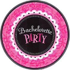 Bachelorette party desserts on pinterest bachelorette for Bachelor party decoration supplies