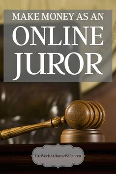 Have you ever heard of being an online juror? Mock trials can be a really interesting way to make extra money.