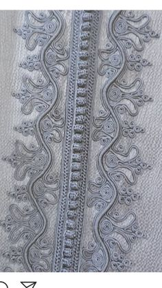 Border Embroidery Designs, Embroidery Patterns, Nigerian Men Fashion, Mens Fashion, Morrocan Kaftan, Sewing Lessons, Caftan Dress, Lace Making, Moroccan Style