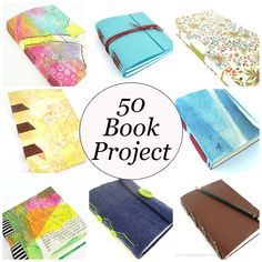 I'm on a mission to make 50 different book structures during 2015. Hope you'll join me :)