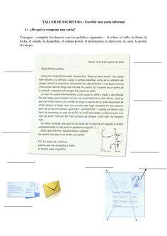 Taller de escritura ; escribir una carta