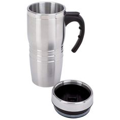 16oz Stainless Blade Insulated Coffee Thermos Travel Mug Tumbler Cup w ...