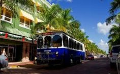 Enjoy a ride on the Trolley in Downtown Naples!