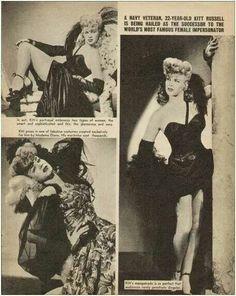 Vintage Drag Queen.
