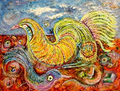 art – Danu's small world Jean Philippe, Small World, Bird, Electric, Painting, Artist, Painting Art, Paintings, Paint