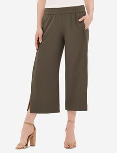 Street chic for summer! Pair these ultra cool pants with a fitted tee for a stylish weekend look.