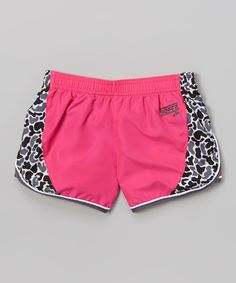 This Pink Glo Make Some Noise Shorts by Soffe is perfect! #zulilyfinds