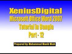 microsoft word office 2007 tutorial pdf