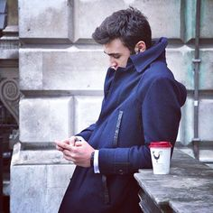 Deep in thought #menandcoffee