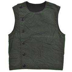 "BLACK SIGN ""Paraffin Weather Swindler Vest""#blcksign"