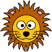 cartoon golden lion clip art vector clip art online royalty free rh pinterest com clipart lion gratuit mountain lion clipart free