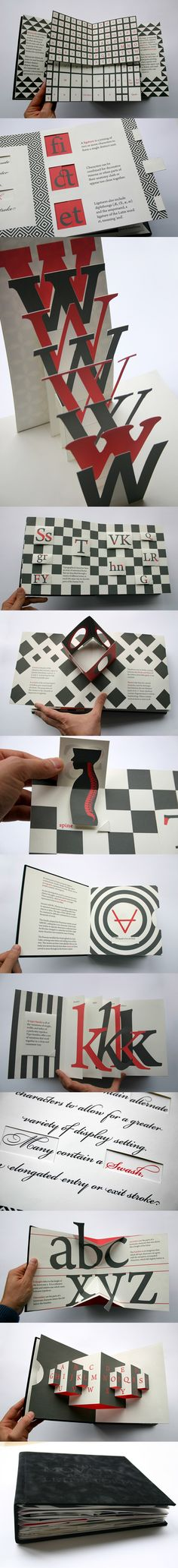 The Movable Book of Letterforms by: Kevin Steele