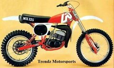 TBT  Aprilia MX 125  The MX 125 is the version displacement intermediate, used since 1975 for various championships, and has been produced in series from 1977 to 1985 .  The first series , produced by 1977 to 1980 was a very simple motion, without any arrangement of modern motorcycles, even if heavily modified from year to year, in fact the motor (a Hiro ) had an air-cooled absorber rear Doublecross and brakes drum. With the MX 125 Ivan Alborghetti is Italian champion in 1977 and 6th in…