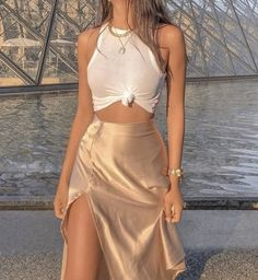 Cute Casual Outfits, Pretty Outfits, Mode Ootd, Elegantes Outfit, Two Piece Outfit, Fashion Outfits, Womens Fashion, Aesthetic Clothes, Spring Outfits