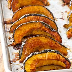 Laced with sweet maple syrup and spicy cayenne pepper—we think it's time for our Maple-Glazed Acorn Squash.