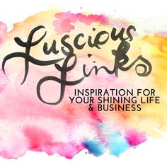 NEW on the blog for your reading pleasure! :: A Mammoth Roundup of Inspirational Links + Videos! http://leoniedawson.com/links/