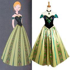 Festa Infantil Frozen - Se você está procurando um modelo mais sofisticado, essa inspiração baseada no vestido da Anna do filme Frozen Fever, ficou perfeita. Fonte da imagem Fanraro.