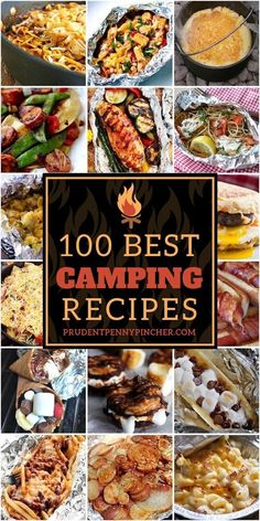 Camping Food Discover 100 Best Camping Recipes Try one of these delicious campfire recipes on your next camping trip. From foil dinners to smores there are camping recipes for adults and kids. Best Camping Meals, Camping Menu, Camping 101, Family Camping, Tent Camping, Camping Dinner Ideas, Camping Cooking, Easy Food For Camping, Camping Food Hacks