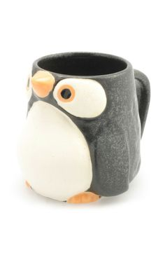 Penguin Cup-- Mine Sarah they're my favorite animals not yours! :P