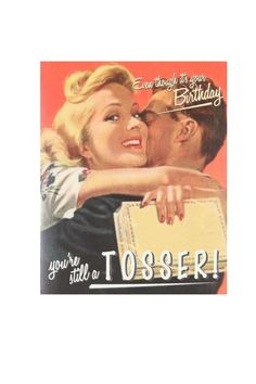 vintage wrong town birthday card | Cotton On