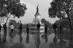 Only one - Place de la République, Paris.