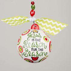 Glory Haus - Reason for the Season Ornament