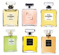 coco chanel perfume bottles
